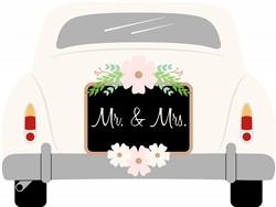 Mr & Mrs Car Print Art