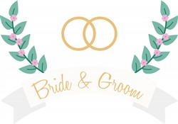 Bride & Groom Print Art