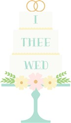 I Thee Wed Print Art