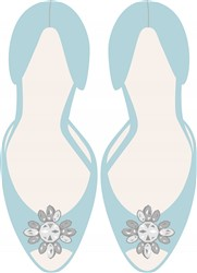 Bridal Shoes Print Art