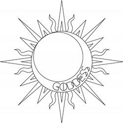 Sun Goddess Print Art
