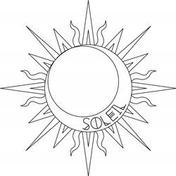 Celestial Soleil Print Art