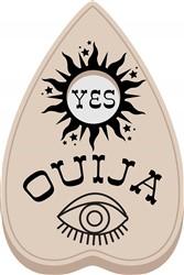 Ouija Yes Print Art