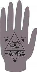 Hamsa Print Art