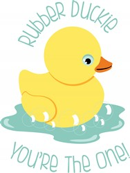 Bath Duckie Print Art