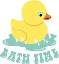 Bath Time Print Art
