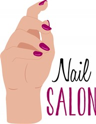 Nail Salon Print Art