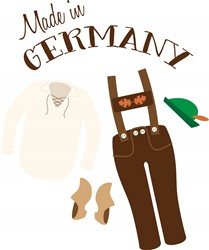Made In Germany Print Art
