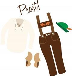Prost Clothes Print Art