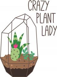 Plant Lady Print Art