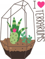 Love Terrariums Print Art
