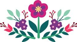 Folk Art Floral Print Art