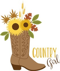 Country Girl Print Art