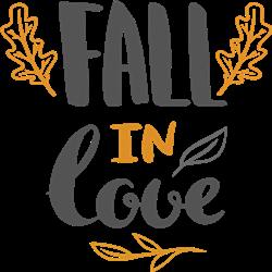 Fall In Love Print Art