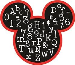 Mickey Mouse ABCs Print Art