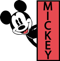 Mickey Mouse Print Art