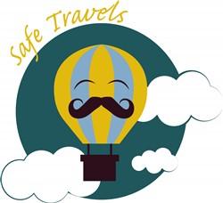 Safe Travels Print Art