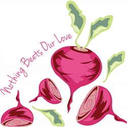 Beets Our Love Print Art