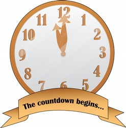 the Countdown Print Art