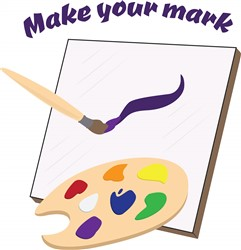 Make Your Mark Print Art