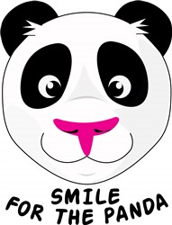 Smile For Panda Print Art