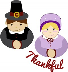 Thankful Pilgrims Print Art