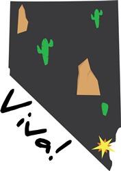 Viva Nevada Print Art