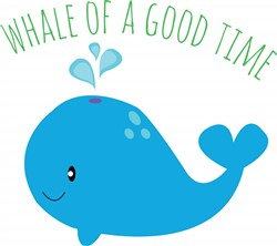 Whale Time Print Art