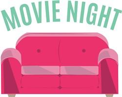Movie Night Print Art