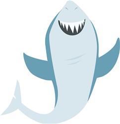 Shark Fish Print Art