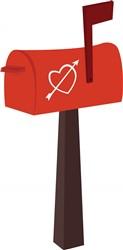 Heart Mailbox Print Art