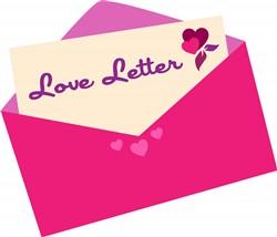 Love Letter Heart Print Art