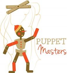 Puppet Masters Print Art