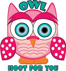 Hoot For You Print Art