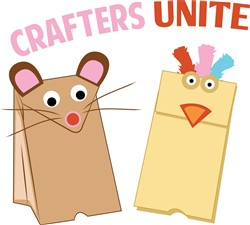 Crafters Unite Print Art