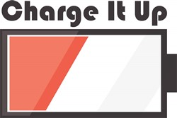Charge It Up Print Art