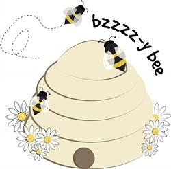 Bzzy Bee Print Art