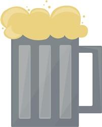 Beer Mug Print Art