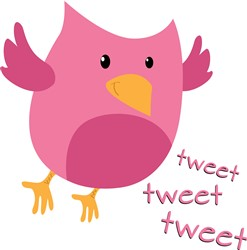 Tweet Bird Print Art