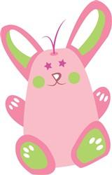 Cute Bunny Print Art