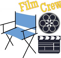 Film Crew Print Art