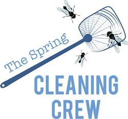 Cleaning Crew Print Art