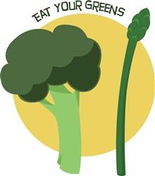 Eat Your Greens Print Art
