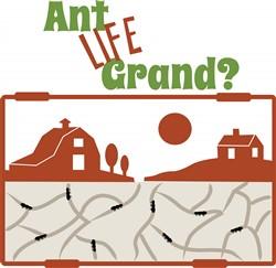 Ant Life Grand Print Art