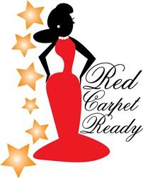 Red Carpet Print Art