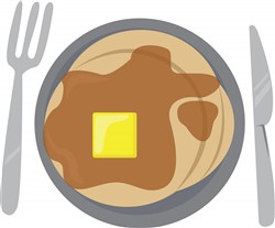 Pancake Breakfast Print Art