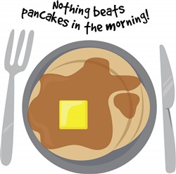 Pancakes In Morning Print Art