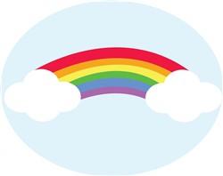 Rainbow Print Art