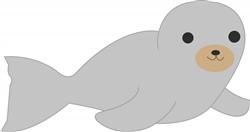 Baby Seal Print Art