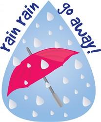 Rain Go Away Print Art